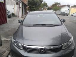 Honda civic lxr 2.0, cor cinza automático, flex - 2014