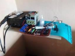 Kit de ferramentas para conserto de celular