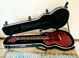 Guitarra PRS + Case Skb + Correia de guitarra