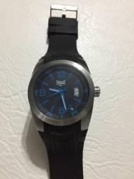 Relógio Everlast Original Fundo Preto E Detalhes Em Azul comprar usado  São Paulo