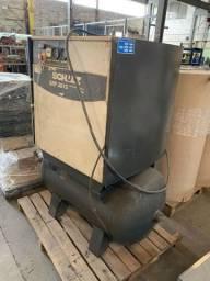 Compressor de parafuso Schulz 15 HP SRP3015 com secador de ar SRS60 Schulz