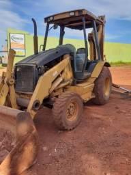Retro escavadeira caterpilar 416d 4x2 ano 2006