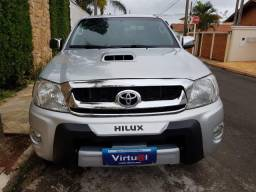 Hilux cd 3.0 d4-d srv 4x4 turbo diesel intercooler automática 2010 - 2010