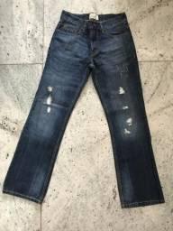 Jeans folgadinho aeropostale masculino TAM 38/40