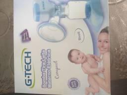 Bomba de tira leite materno elétrica