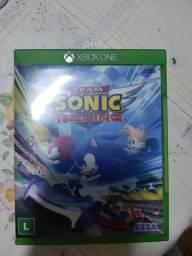 Vendo Jogo Sonic do Xbox one