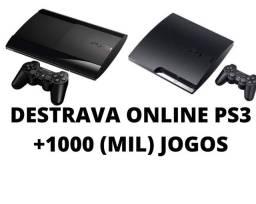 DESTRAVA ONLINE PS3 +1000 (MIL) JOGOS