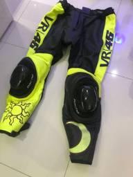 ROUPA DE MOTO+botas+mochila ALPINESTAR: AGV - EM COURO VALENTINO ROSSI