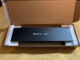 Apple watch Nike série 6 Gps, pulseira esportiva, caixa de aluminio, preta