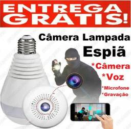 Título do anúncio: Lâmpada Câmera Espiã Audio video Gravação