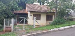 Casa para aluguel no centro de Lomba Grande, com 2 dormitórios