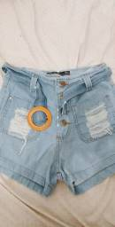 Bermudinha Jeans