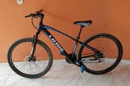 Bicicleta aro 29 com 3 meses de uso