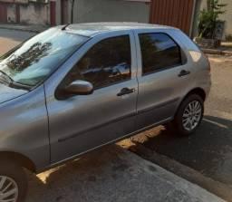 Carro Fiat Palio Cinza 2007/2007