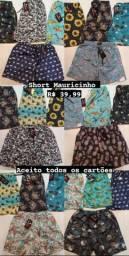 Shorts Mauricinho Tactel