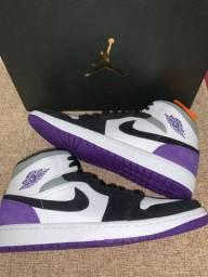 "Jordan 1 mid ""Unin Purple"""