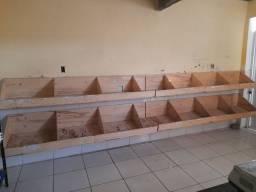 Pratileiras madeira da boa