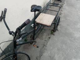 Bicicleta Triciclo de Carga Traseira