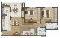 Apartamento com 2 dormitórios à venda, 76 m² por R$ 353.821 - Vila Bourghese - Pindamonhan