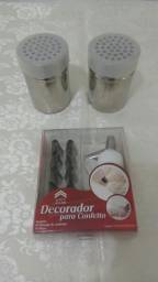 Kit decorador para confeiteiro (Novo)