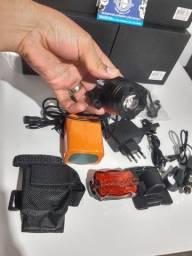 Lanterna potente para bicicleta com 6 elementos vendemos  no  atacado