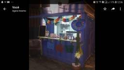 Food truck em container customizado