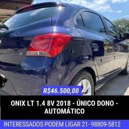 Onix LT 1.4 2018 - Lindíssimo Automático Único Dono