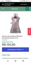 Perfume glamour e glamour Secrets Black