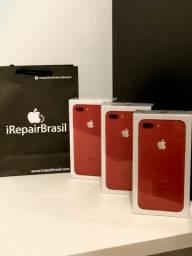 IPhone 8 plus 64gb- Vermelho- novos