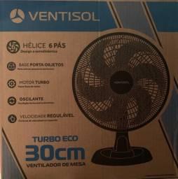 Ventilador ventisol turbo eco 30cm novo