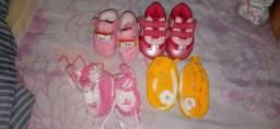 Lote de Roupinhas de bebê menina