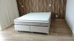 :;Cama Box Colchao Plumatex Ilheus Queen Size (158x198x) A Pronta Entrega;;