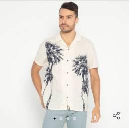 Camisa Hering Off White Réveillon