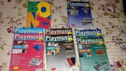 Doa-se revistas com partituras de músicas