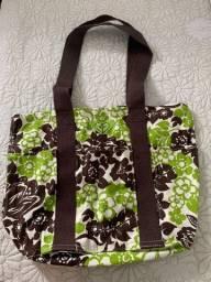 Bolsa Roxy (original) estampada em tecido Nova