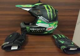 Capacete Bell MotoCross moto enduro