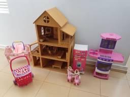 Casinha de boneca brinquedo