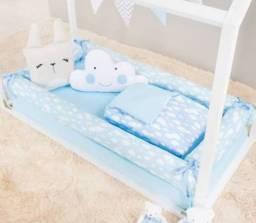 Kit lençol p cama montessoriana