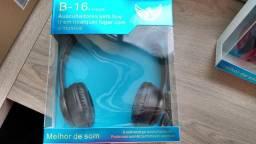 Fone de Ouvido Bluetooth *Novo