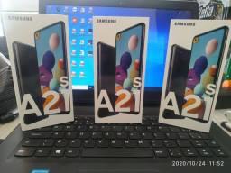 Samsung A21S 64gb R$1.200,00 a vista zero na caixa cartão com juros da maquineta.