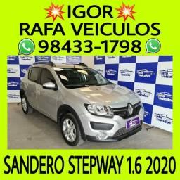 Sandero stepway 1.6 flex 2020 ENTRADA A PARTIR DE MIL REAIS - FALAR COM IGOR