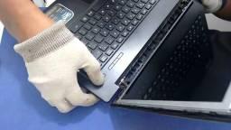 Troca de tela e teclado (Notebook)