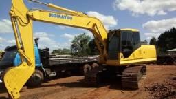 Escavadeira Komatsu Pc 160 Ano 2012
