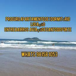 Locação de apartamento em Praia Grande- SP