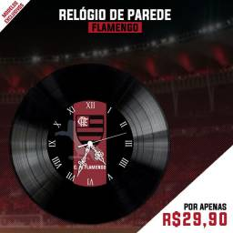 Relógio de parede Flamengo