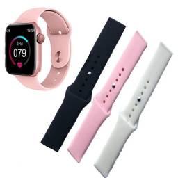 Promoção Relógio SmartWatch + 3 Pulseira