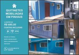 Locação Qtuitinete kitnet para solteiro ou casal sem filhos prox ao terminal de Pinhais