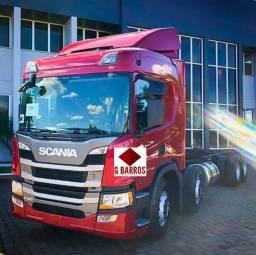 Scania P320 8x2 Aut Cabine leito Super Completo (Chassis) 2021