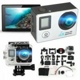 Câmera Filmadora Esportiva Prova Dágua Action 4k 30fps Wifi<br>