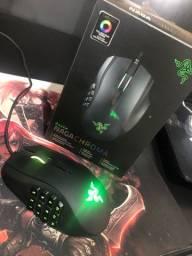 Mouse gamer razer naga chroma